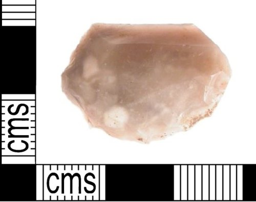 LVPL-64B6E5: Bronze Age flint scraper