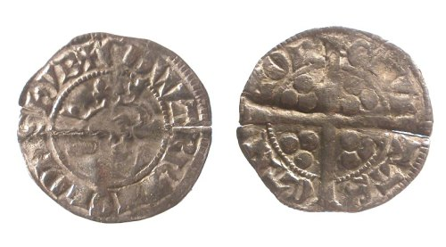 LVPL-849423: Medieval coin: penny of Edward I