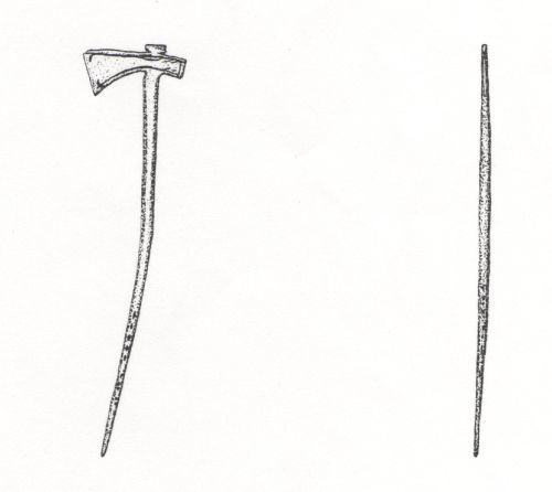WILT-02CA51: Roman Axe (front and side)