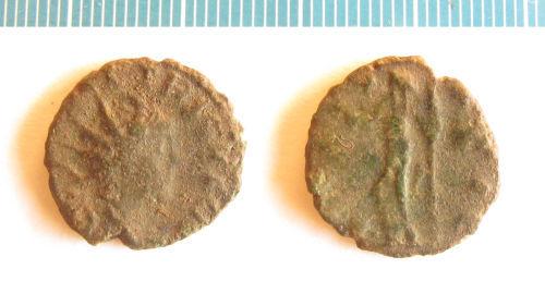 NMS-5535EA: Roman coin : barbarous radiate