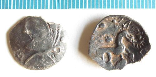 NMS-B5525A: Iron Age coin : Icenian silver unit