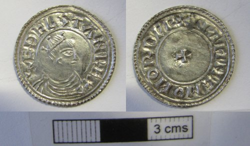 NMS-C1155E: Early Medieval coin :
