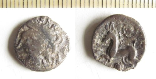 NMS-891A72: Iron Age coin : Bury type unit