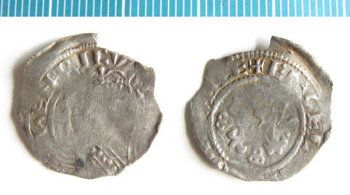 NMS-0F1A24: Medieval coin : penny of Henry I