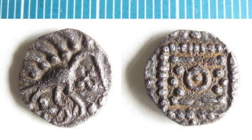 NMS-4CEB28: Early Medieval coin : Series E sceatta