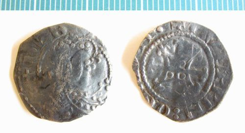 NMS-1D95DB: Medieval coin : penny of Henry I