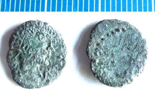 NMS-2A55E3: Roman coin : barbarous radiate