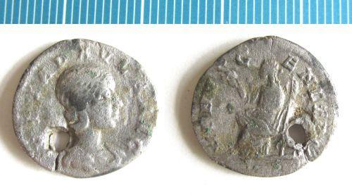 NMS-94EFF8: Roman coin : denarius of Julia Paula