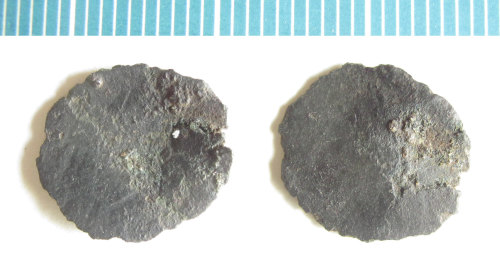 NMS-F62F54: Possible irregular Roman coin blank
