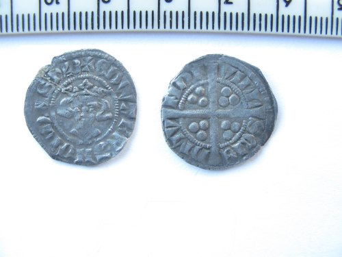 NMS-F26031: Medieval coin: Silver penny of Edward II