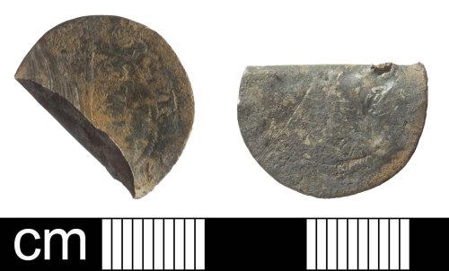 SOM-DEA1D2: Threepence of Elizabeth I