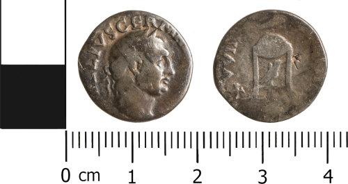 NCL-D44613: Denarius of Vitellius