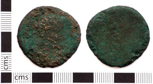 DEV-F9432B: Roman coin: sestertius of 1st - 3rd century emperor