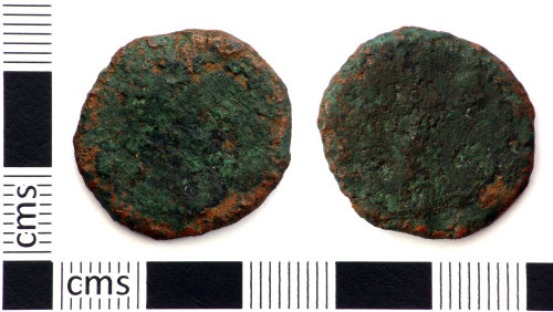 DEV-F84454: Roman coin: As (probably) of 1st - 3rd century emperor