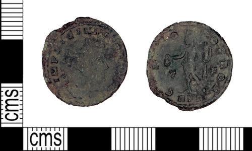 LEIC-E65AE5: LEIC-E65AE5: Roman coin: nummus of Licinius