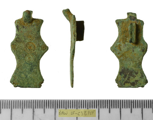 SF-C3875F: SF-C3875F: Early medieval small long brooch