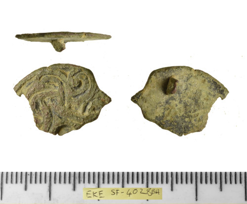 SF-4028BA: SF-4028BA: Early medieval disc brooch