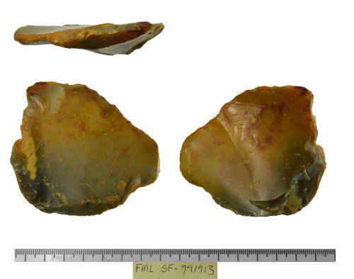 SF-991913: SF-991913: Probable paleolithic lithic implement