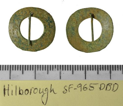 SF-965DBD: SF-965DBD: Early medieval annular brooch