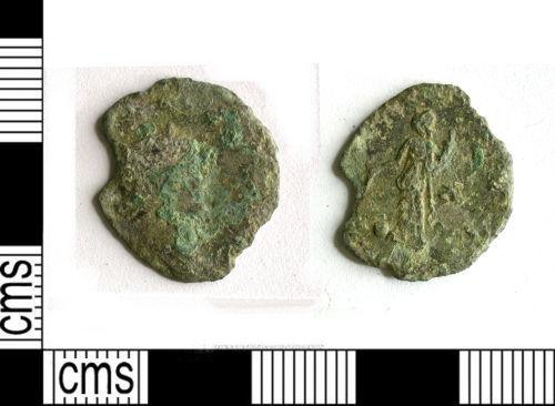 LEIC-EFA8F4: LEIC-EFA8F4: Roman coin: radiate of Gallienus