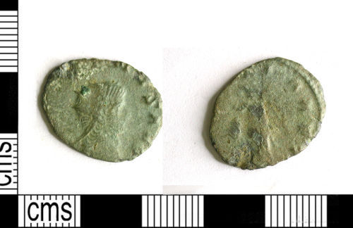 LEIC-F06827: LEIC-F06827: Roman coin: radiate of Gallienus