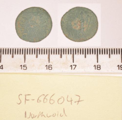 SF-666047: SF-666047: Roman coin: barbarous radiate