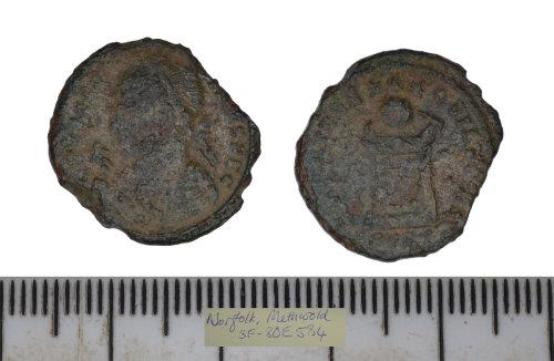 SF-80E584: SF-80E584: Roman coin: nummus of the House of Constantine