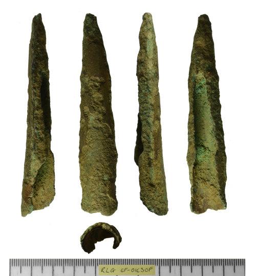 SF-01C30F: SF-01C30F: Bronze Age socketed spear