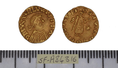 SF-A84316: SF-A84316: Early medieval tremissis