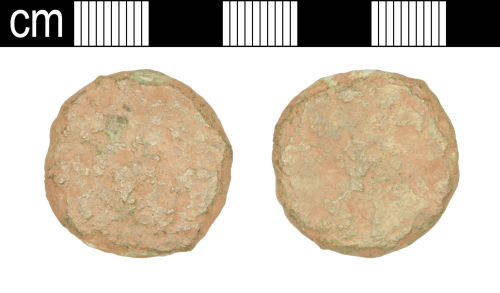 SOM-17D743: SOM-17D743: Roman coin: as or dupondius of uncertain ruler