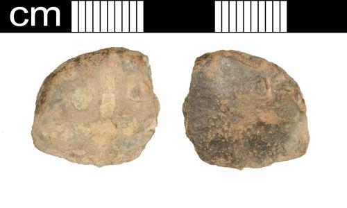 SOM-2E82E3: SOM-2E82E3: Post-Medieval lead token
