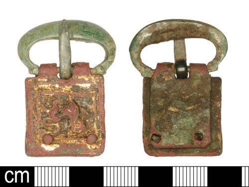 SOM-FDB947: SOM-FDB947: Medieval single loop oval buckle