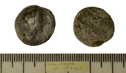 SF-299749: SF-299749: Roman coin: denarius of Marciana