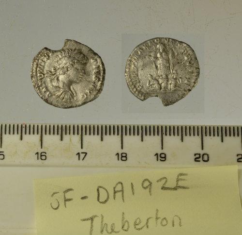 SF-DA192E: SF-DA192E: Roman coin: denarius of Caracalla