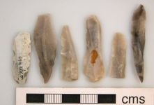A resized image of Lamberhurst: Six Mesolithic blades