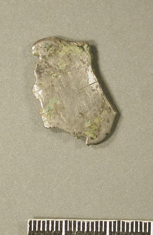 KENT-23C806: KENT-23C806.  Reverse of Frankish silver brooch.  2005 T351.  Possibly part of KENT-D274F8.