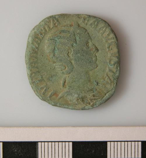 KENT-96FAB4: KENT-96FAB4.  Roman coin obverse.