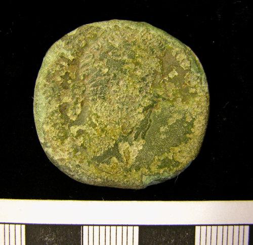 KENT-DA5B05: KENT-DA5B05.  Roman coin, obverse.