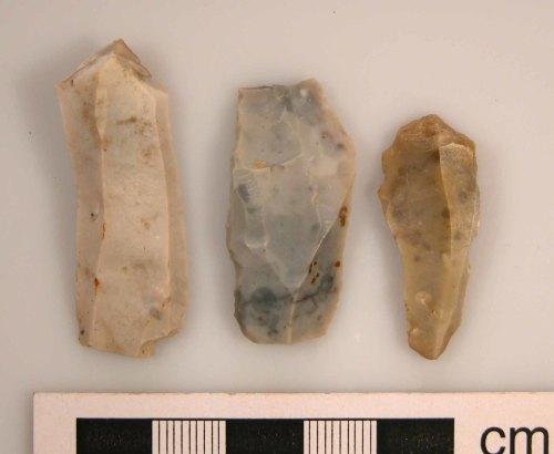 KENT-DA1EE2: Lamberhurst: Three Mesolithic blades