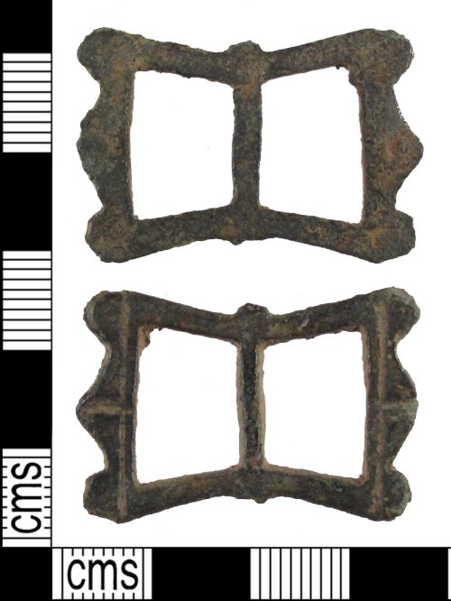 SUSS-B294CE: Post medieval: buckle