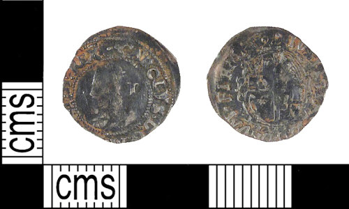 A resized image of Post Medieval coin: Penny of Charles I