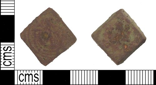 A resized image of Post Medieval pan weight