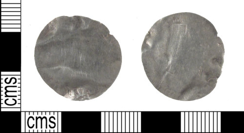 A resized image of Post Medieval six pence of Elizabeth I