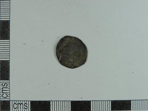 CORN-3257D4: halfgroat of Elizabeth I (obverse)