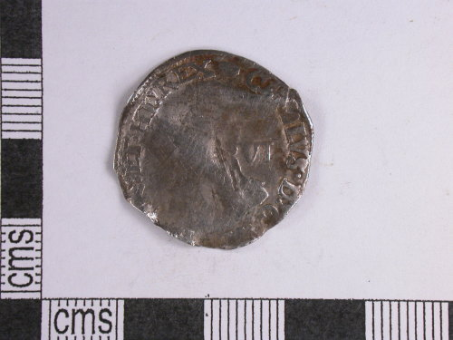 CORN-15184B: sixpence of Charles I (obverse)