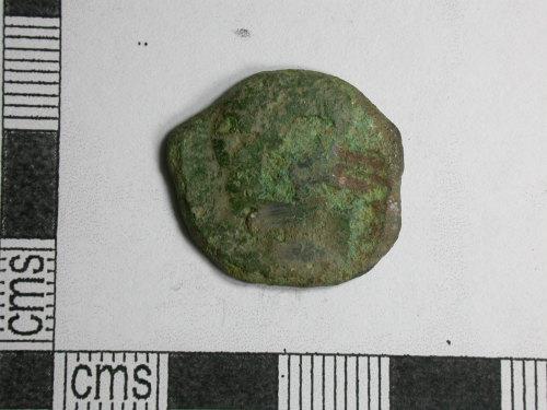 CORN-CB0872: as of Vespasian (obverse)
