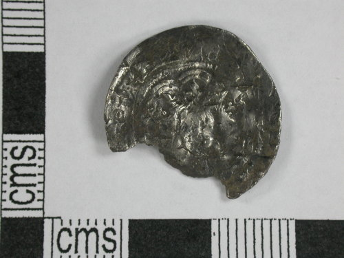 CORN-BBD1B5: half groat of Edward III (obverse)