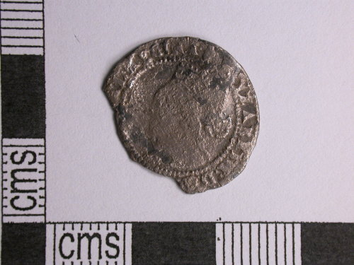CORN-260F9A: threepence of Elizabeth I (obverse)