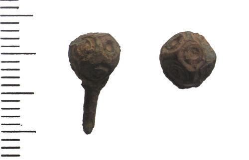 LIN-4E8017: Anglo-Saxon copper alloy pin