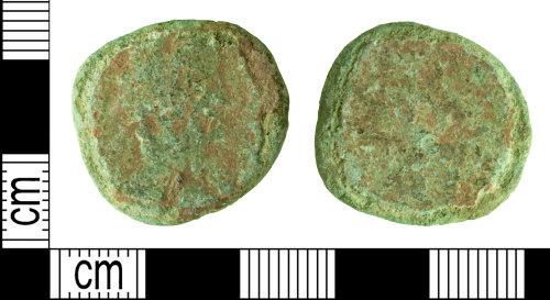 DENO-171655: Roman coin: dupondius or as of an uncertain ruler